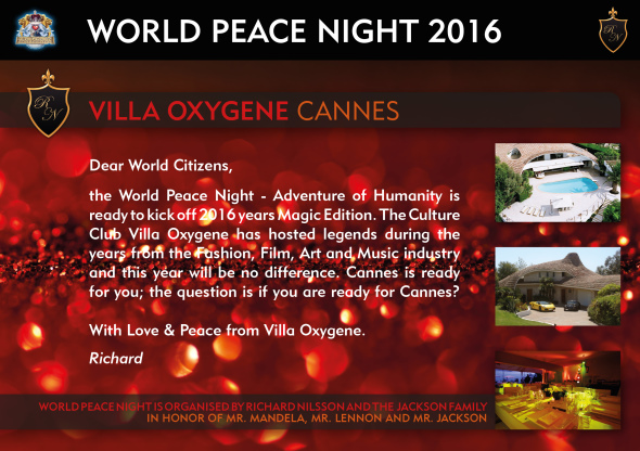 World Peace Night Facebook